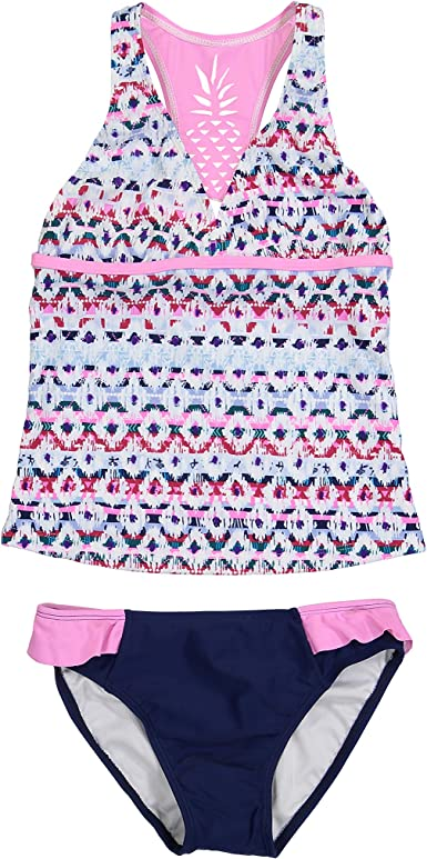 Tommy Bahama Girls 2-Piece Tankini Swimsuit Set