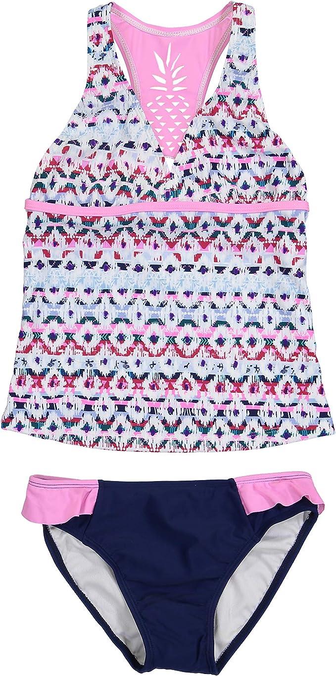 Tommy Bahama Girls Baby 2-Piece Tankini Swimsuit Bathing Suit Bikini