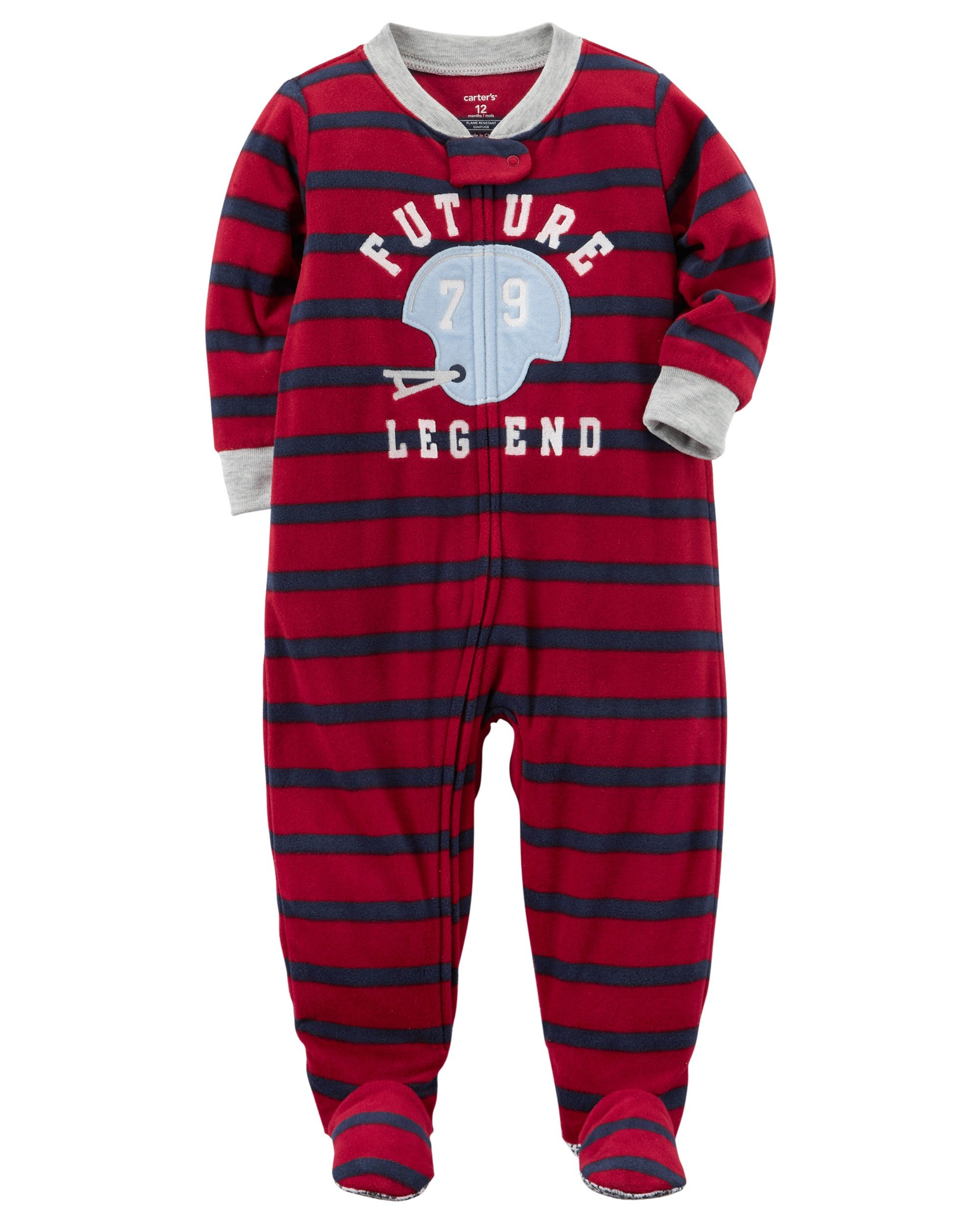 aa97293230d9 Galleon - Carter s Baby Boys  12M-12 One Piece Football Future ...