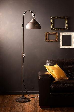 LED Lámpara de pie industrial estilo retro iluminación ...