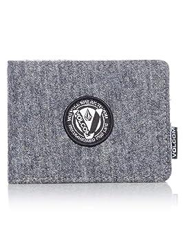 nouvelles variétés nouvelle saison recherche de liquidation Volcom WooLStripe Wlt Porte-Monnaie, 22 cm, Gris (Charcoal ...