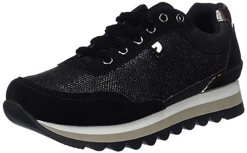Gioseppo 46569-P, Zapatillas para Mujer, Negro, 36 EU: Amazon.es: Zapatos y complementos