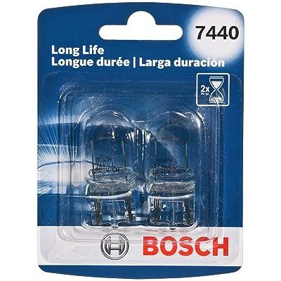 Bosch 7440 Long Life Upgrade Minature Bulb, Pack of 2: Automotive