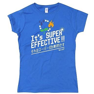 It S Super Effective Girls T Shirt Amazon Co Uk Clothing