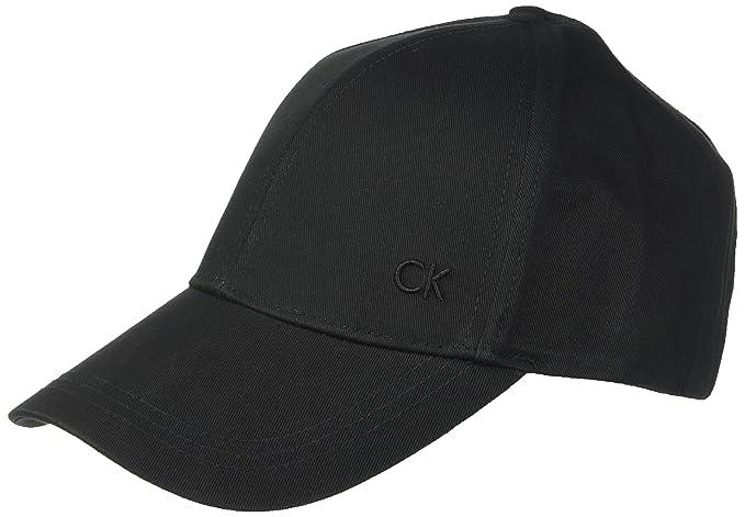 82f075c444 Calvin Klein CK Baseball cap, Berretto Uomo, Nero (Black 001), Unica ...