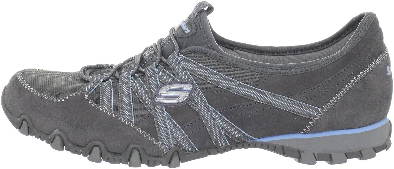 Skechers Bikers?Verified - Zapatillas de material sintético mujer, Grigio (Grau (GYLB), 40