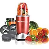 Magic Bullet NBR-1201R 12-Piece Hi-Speed Blender/Mixer System, Red
