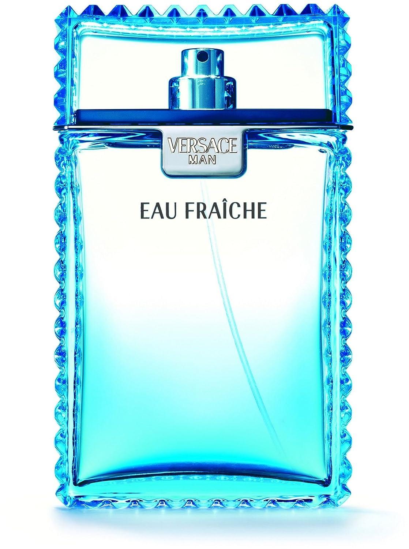 Versace Man Eau Fraiche Eau De Toilette Spray Men by, 6.7-Ounce VER500011