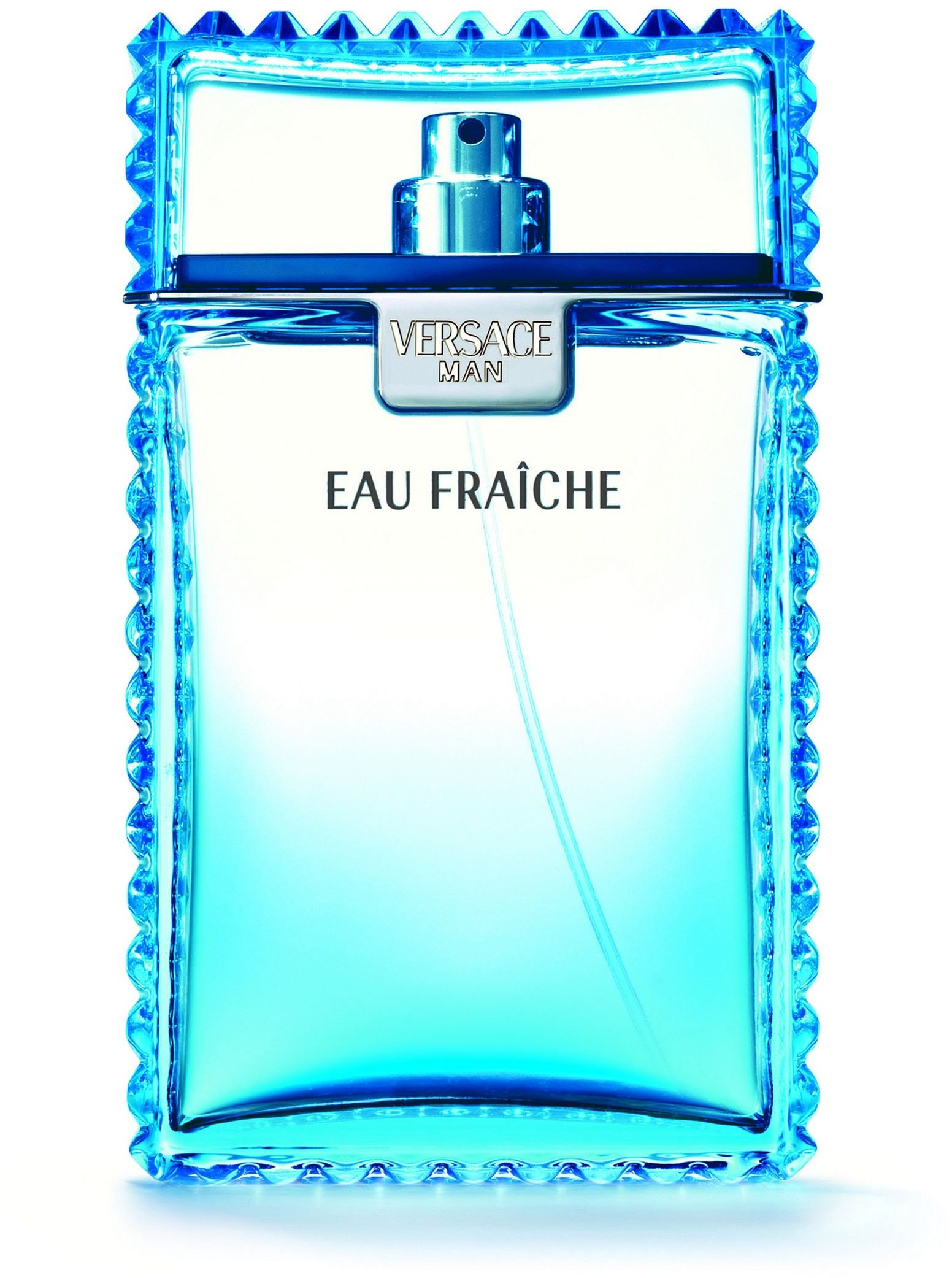 Man Eau Fraiche Eau De Toilette Spray Men by Versace, 6.7 Ounce