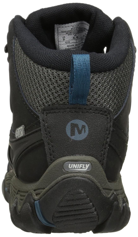 Merrell Women's All Out Blaze Vent Mid Waterproof Hiking Shoe B018WGC4C0 5 B(M) US|Black