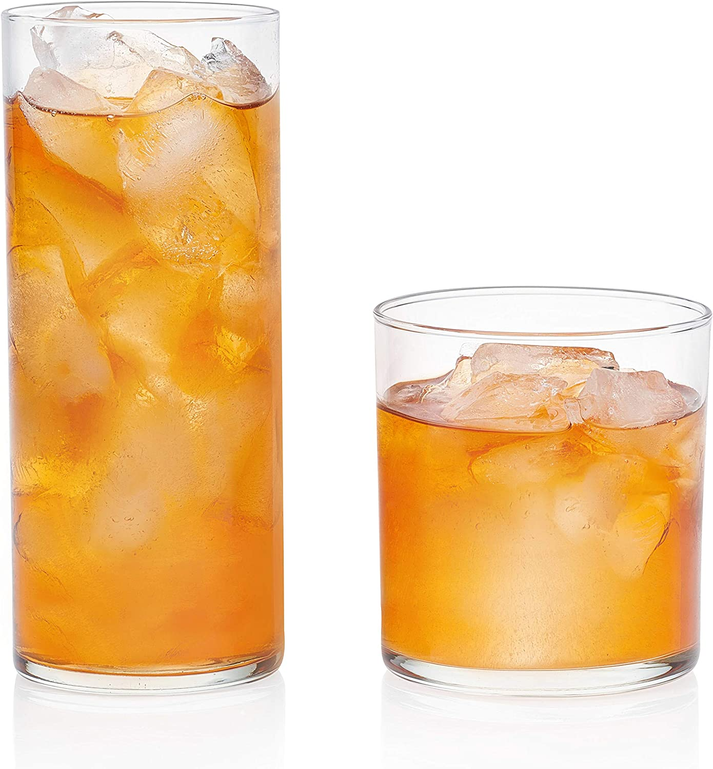 Libbey Miles 16-Piece Tumbler and Rocks Glass Set