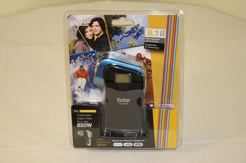 Vivitar DVR-850W Underwater Digital Video Recorder Camcorder Purple