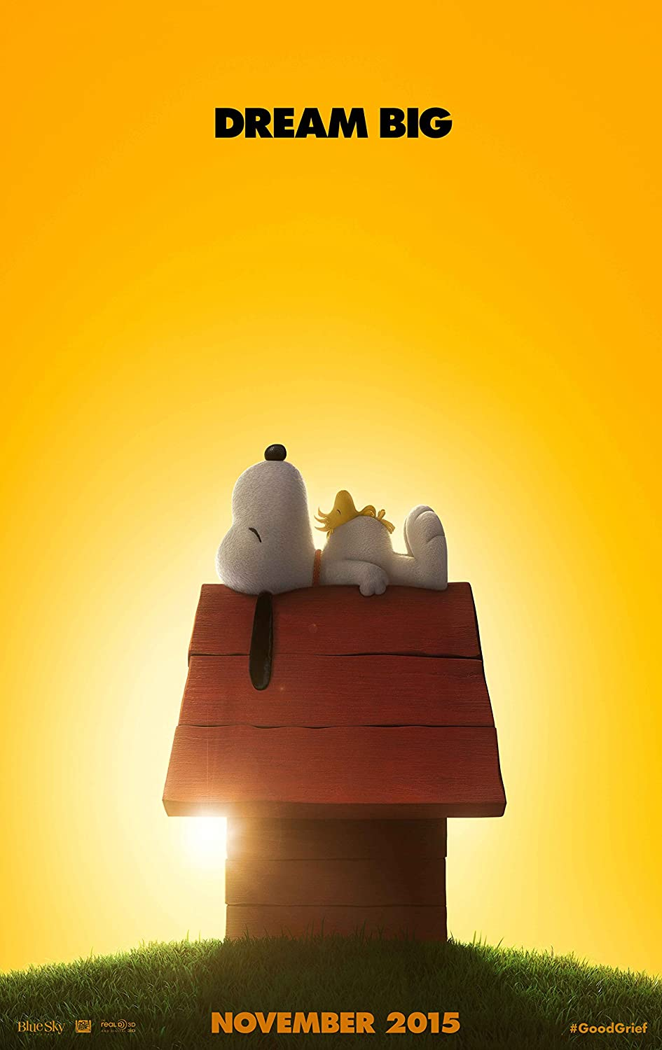 The Peanuts Movie - Poster: (24 x 36 Inches) - Glossy Photo Paper (Thick 8 Mil), Snoopy, Charlie Brown