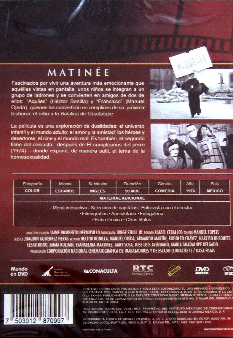 Amazon.com: Matinee [NTSC/Region 4 dvd. Import - Latin ...