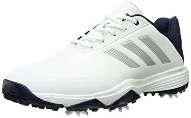 best cheap ffaae 782ea adidas Mens Adipower Bounce WD Golf Shoe, FTWR WhiteSilver met.Noble