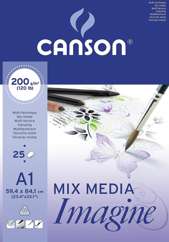 Canson - CANSON Bloc a dessin Imagine, format A2, 200 g/m2 200006003