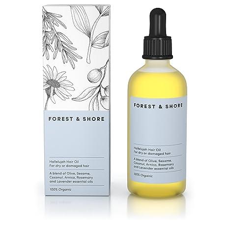 Aceite para el cabello Hallelujah®, 100% natural certificado, protección y tratamiento con