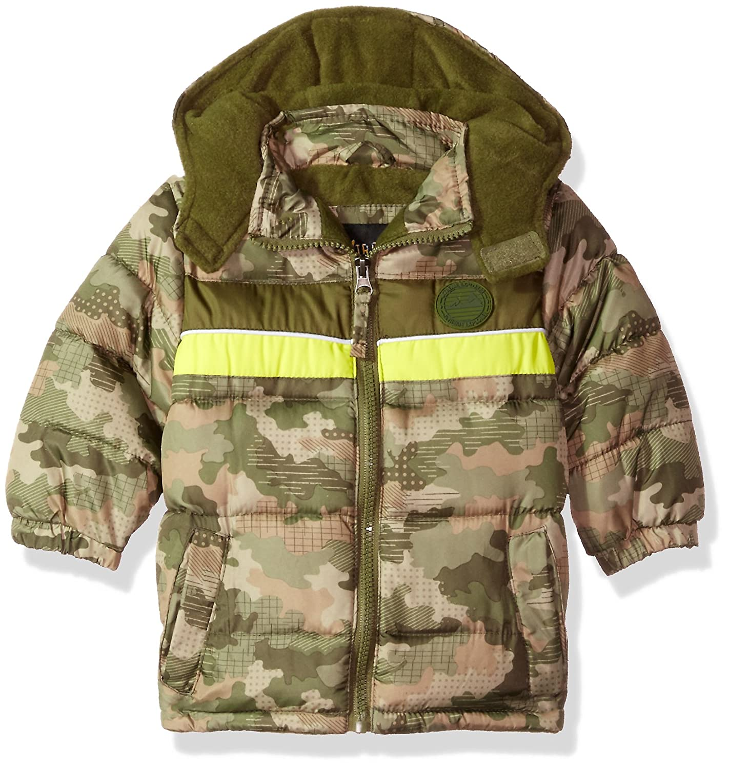 iXtreme Baby Boys Infant Camo Puffer W/Rubber Patch 94311