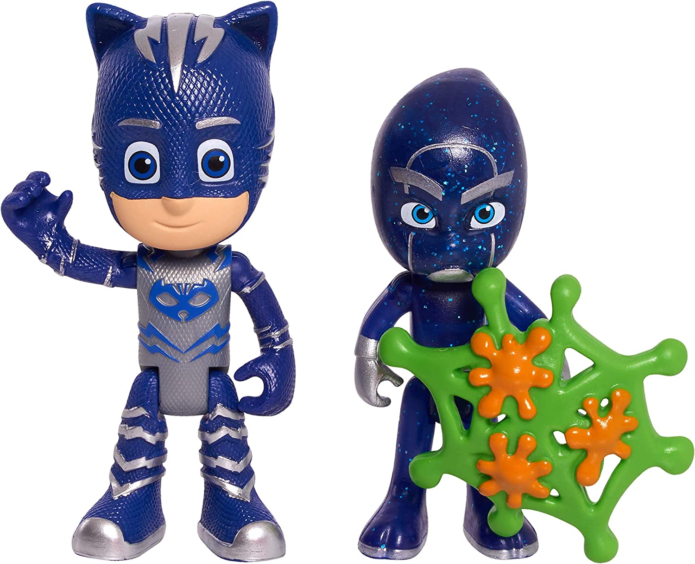 JP PJ Masks JPL95311 PJ Masks Juego de 2 Figuras de Catboy ...