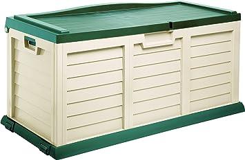 Auflagenbox Gartenbox Kissenbox Xxl Mit Sitzflache Ca 142cmx 62