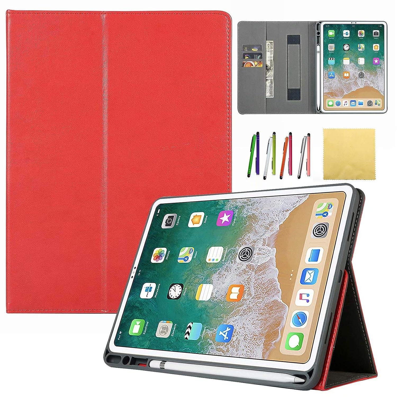 ファッション Coopts iPad Pro Apple + 12.9インチ用ケース Coopts 2018年第3世代 - スリムスタンドスマートシェル 自動ウェイク/スリープ機能付き + 丈夫な半透明バックカバー Apple Pencilのアテック Apple iPad Pro 12.9用 Coopts -0908 01# Red B07L4TZ2PF, Luxzet ラグゼット:e03c8a20 --- a0267596.xsph.ru