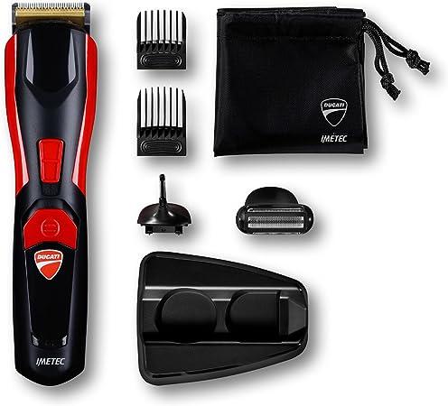 Imetec Ducati - Kit Recortador de barba GK 618 Gearbox, 8 en 1 ...