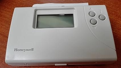 Cronotermostato Honeywell t6641e1014 programa de calefacción diarios, 6 niveles de temperatura diarios, funcionamiento automático
