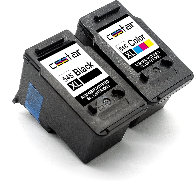 CSSTAR Remanufacturado Cartucho de Tinta Reemplazo para Canon PG ...