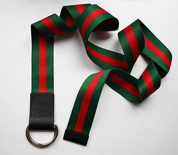84288acb2 Amazon.com: Belt | Green Red | Lux | Luxury | Trend | Gucci style | Women  fashion | 2019 | Accessory |: Handmade