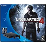 PlayStation 4 Slim 500GB Console - Uncharted 4 Bundle - Console Edition