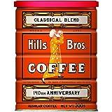 ヒルス コーヒー豆 (粉) クラシカルブレンド 缶入りレギュラーコーヒー 300g