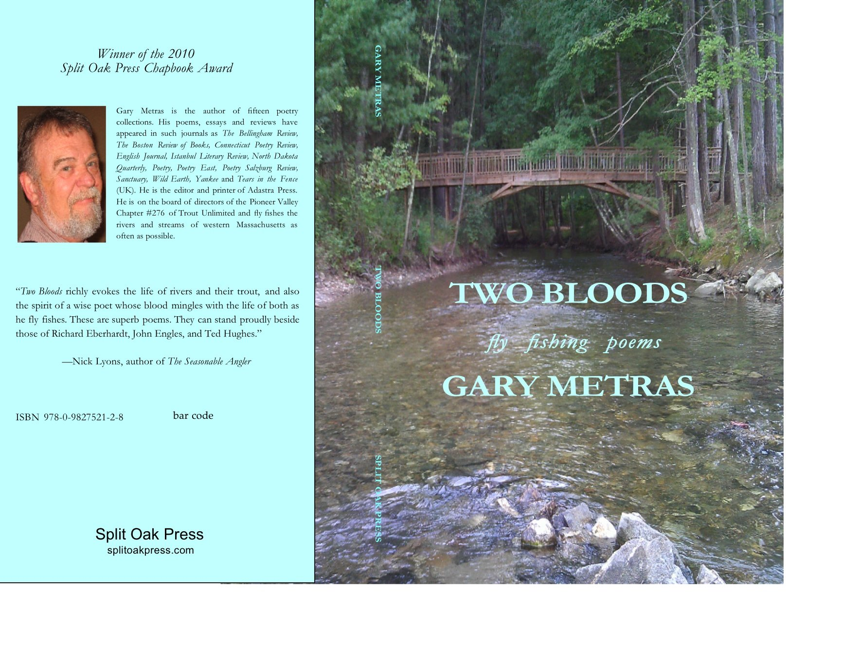 Read Online Two Bloods: Fly Fishing Poems pdf epub