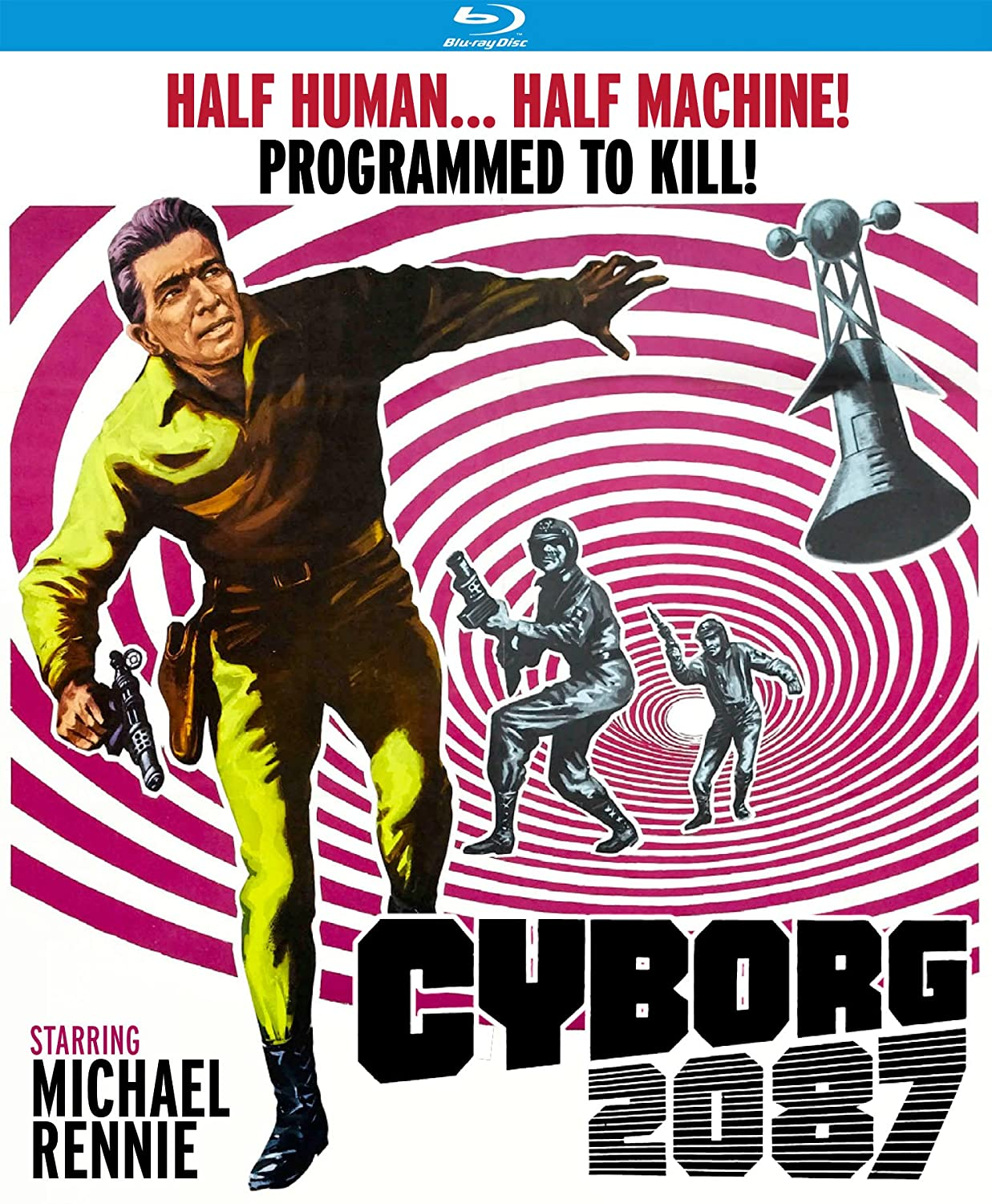 Amazon.com: Cyborg 2087 [Blu-ray]: Michael Rennie, Karen Steele, Wendell  Corey, Warren Stevens, Harry Carey Jr., Eduard Franz, Franklin Adreon:  Movies & TV