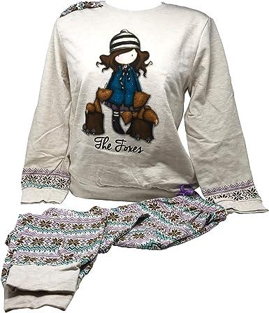 Aznar Gorjuss The Foxes – Pijama con caja de regalo – Niña/adulto – Varias tallas disponibles