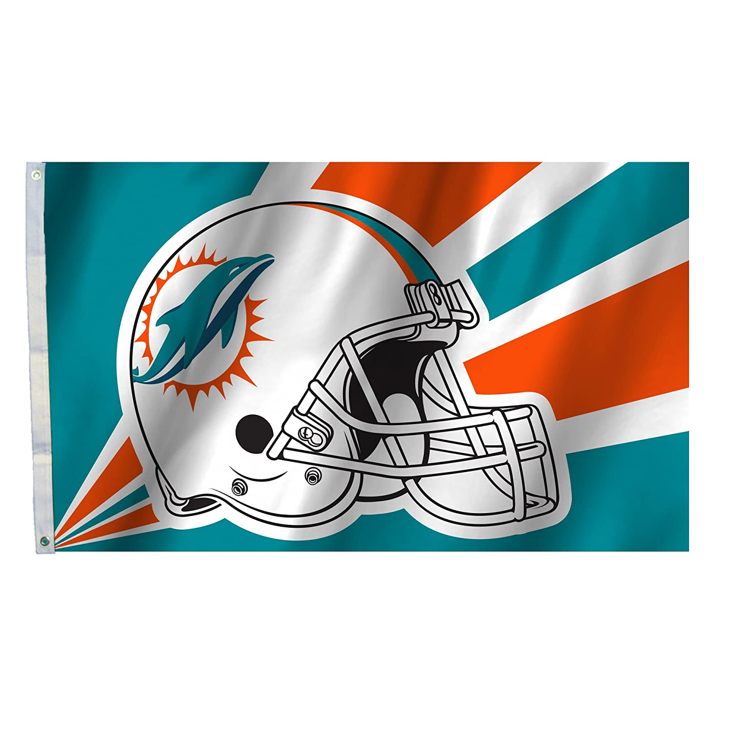 NFL Miami Dolphins3 by 5 Foot Flag