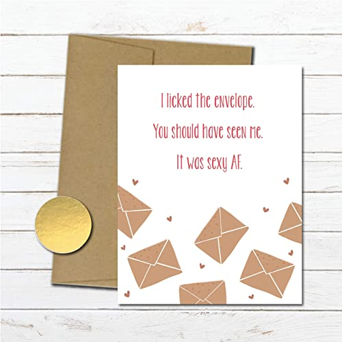 Amazon Sexy Anniversary Gift For Boyfriend Naughty Love Card