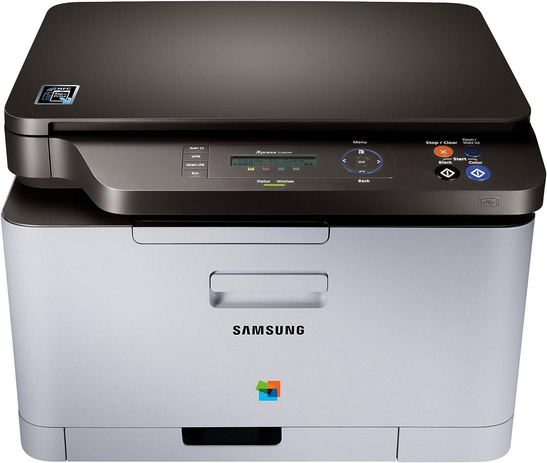 Samsung Xpress C460W - Impresora multifunción láser (b/n 18 PPM ...