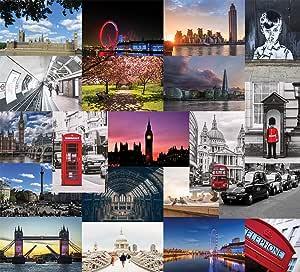 Londres tarjetas postales: Amazon.es: Oficina y papelería