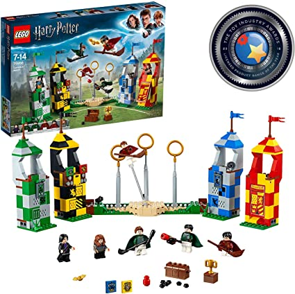 Lego Harry Potter Quidditch Match Costruzioni Action Toy Figures Amazon Canada