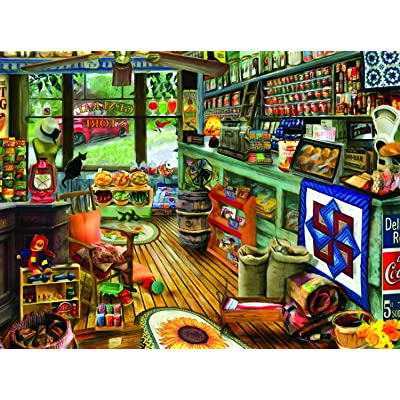 Shopping Day 1000 pc Jigsaw Puzzle by SUNSOUT INC: Toys & Games