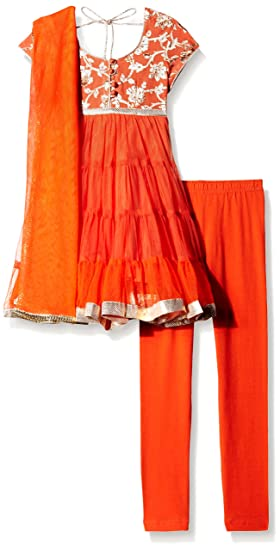 Biba Girls Salwar Suit Set Girls' Salwar Suit Sets at amazon