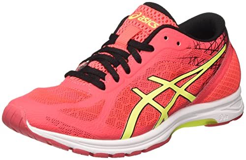 Asics Gel-DS Racer 11, Zapatillas de Entrenamiento para Mujer, (Diva Pink/Safety Yellow/Black), 36 EU: Amazon.es: Zapatos y complementos