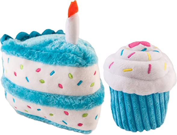 Awesome Pet Supplies Zippypaws Dog Birthday Toy Squeaky Chew Birthday Funny Birthday Cards Online Alyptdamsfinfo