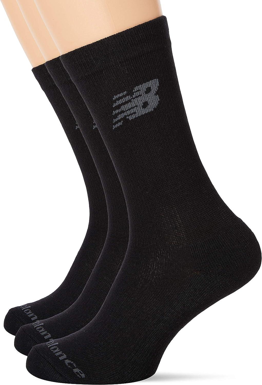 Haltung Neu Unisex Prime Crew 3 Packung Socken Schwarz BNWT