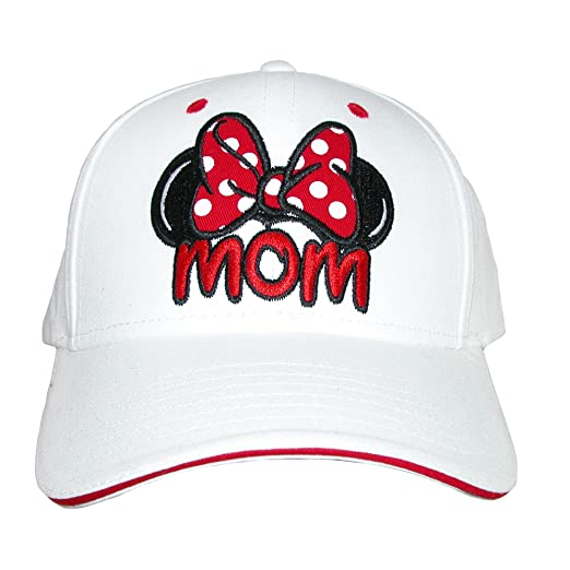 Amazon.com  Disney Womens Minnie Mouse Mom Fan Baseball Hat 6e25f75a704