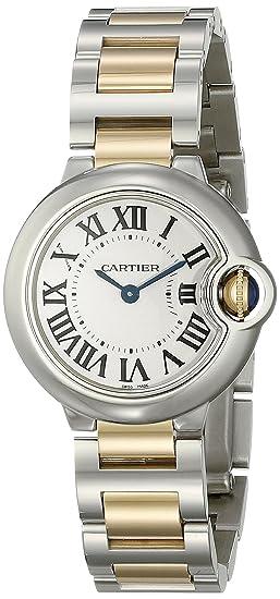Cartier W69007Z3 - Reloj para Mujeres Color Plateado