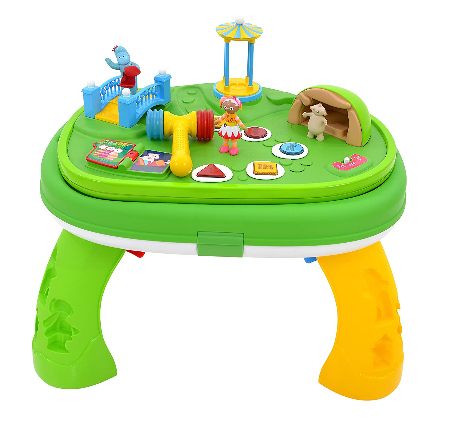 In The Night Garden Furniture Amazon in the night garden explore and learn musical activity amazon in the night garden explore and learn musical activity table toys games workwithnaturefo