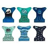 ALVABABY Color Snaps Baby Cloth