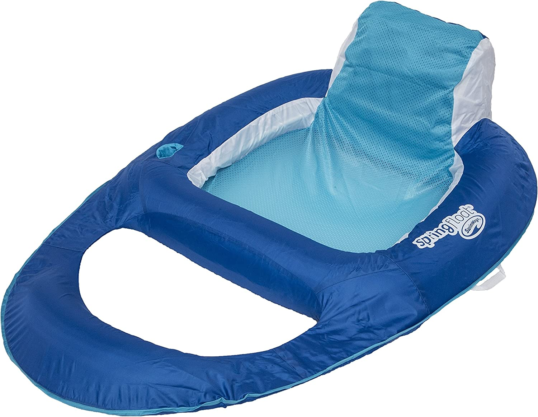 SwimWays Spring Recliner Pool Lounge Float