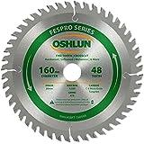 Oshlun SBFT-160048 160mm 48 Tooth FesPro Crosscut ATB Saw Blade with 20mm Arbor for Festool TS 55 EQ, DeWalt DWS520, and…